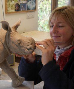 Nick Mackman and rhino