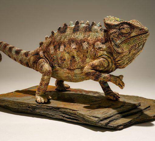 chameleon-sculpture