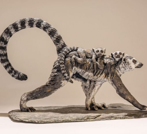lemur-sculpture